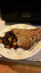 Beets & Greens & Steak
