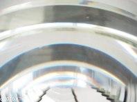 Closeup of fresnel lens