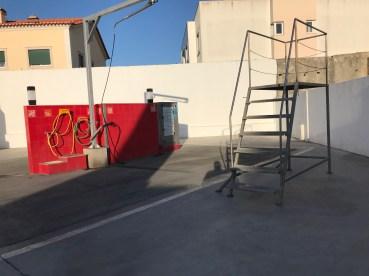 Entsorgung und Waschplatz