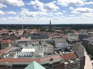 Blick über Lübeck