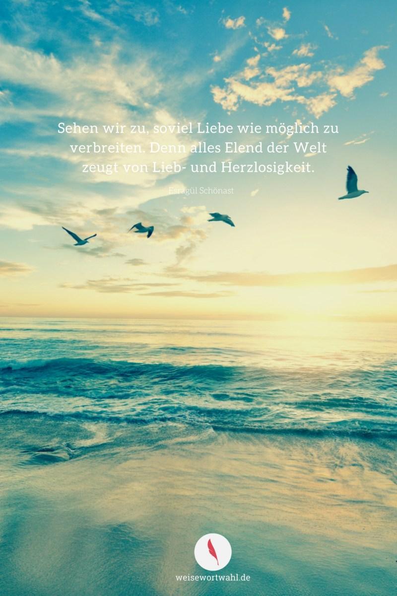 Hintergrundbild für das Smartphone mit diesem Spruch über den Frieden und Liebe.