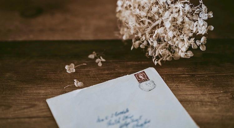 Brief Schreiben Liebe Gestehen Geist Herz Menschlich