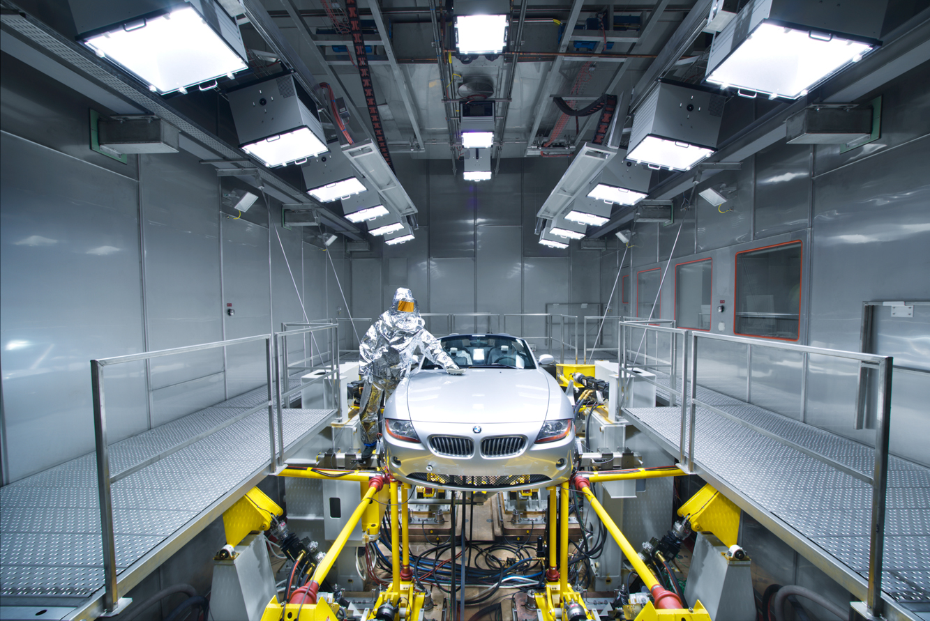 Walk InDrive In Test Chambers  Weiss Envirotronics