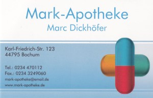 Logo Mark Apotheke 2016