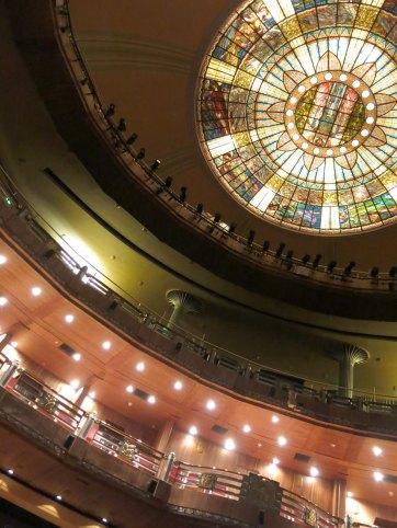 Die Kuppel des Palacio de Bellas Artes