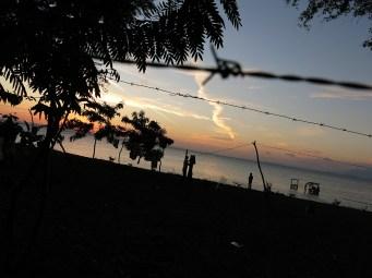 Super Wäscheleinen am Strand von Moyogalpa auf Ometepe
