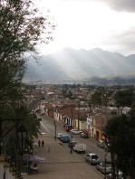 über den Dächern san Cristobals