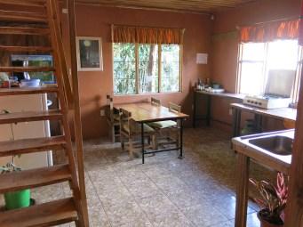 Die Hostel-Küche