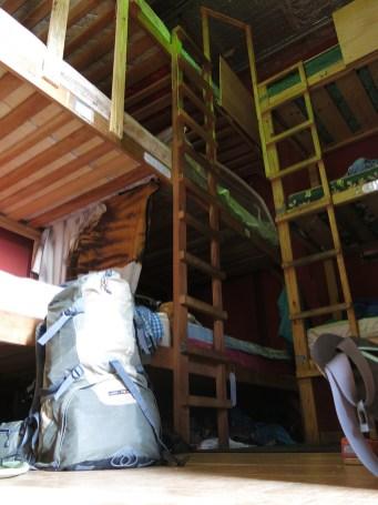 Unser 24-Personen-Zimmer mit 3-Etagen