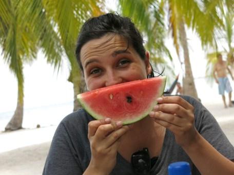 Mone mit Melone