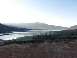 Ein See auf dem Weg nach Uspallata