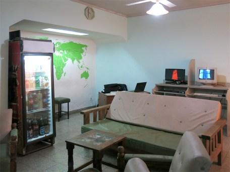 Unser Hostel-Wohnzimmer