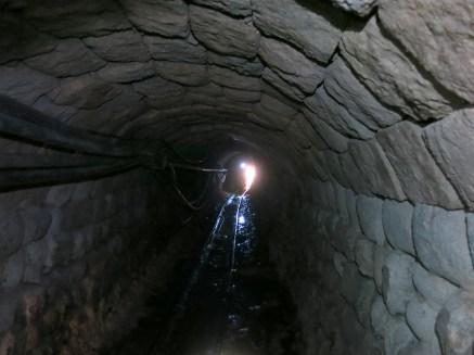 Der Eingang zur Silbermine