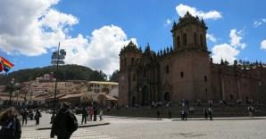 Die Cathedrale von Cusco