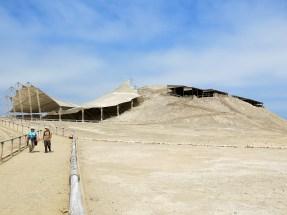 Von außen kaum als Pyramide zu erkennen