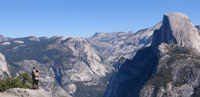 Unendliche Weite im Yosemite Valley.