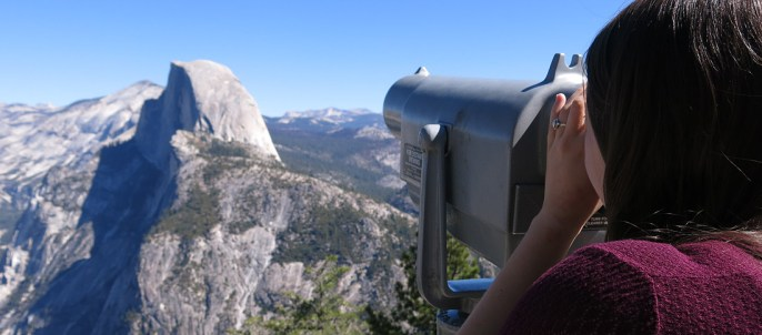 Tolle Aussicht vom Glacier Point.