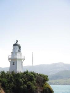 Der Leuchtturm von Akaroa