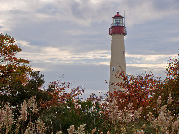 Cape May Lighthouse: Autumn
