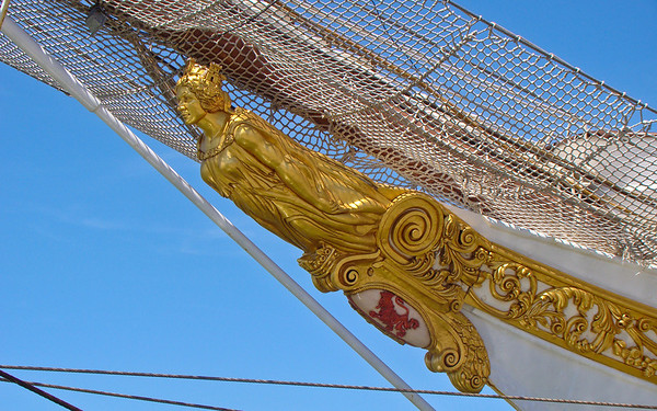 Masthead Detail, J S de Elcano