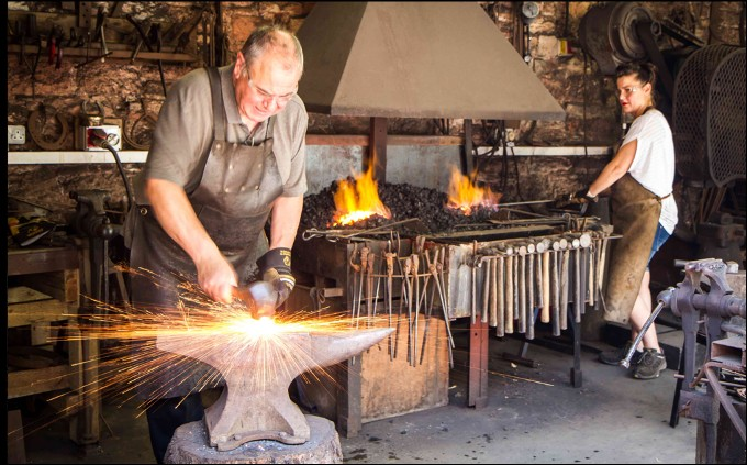 The meaning and symbolism of the word  Blacksmith