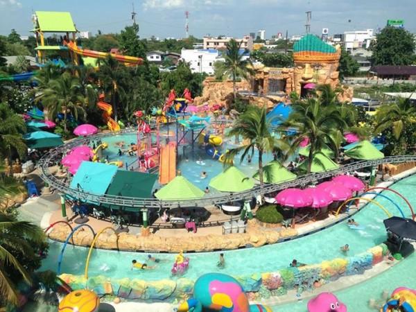 สวนน้ำ The Mall Korat