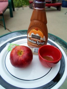 Worms  Apples with Mud Sauce Fun Healthy Snack for Kids