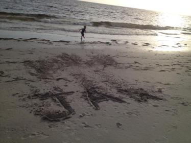 Happy beach boy.