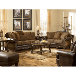 Durablend Sofa Upholstered Couches Sofas Ashley Fresco Durablend® & Loveseat
