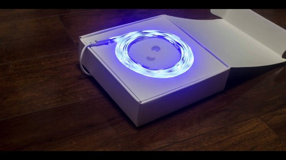 On YouTube: Xiaomi Yeelight Wi Fi Controlled LED Lighting Strip Review & Giveaway