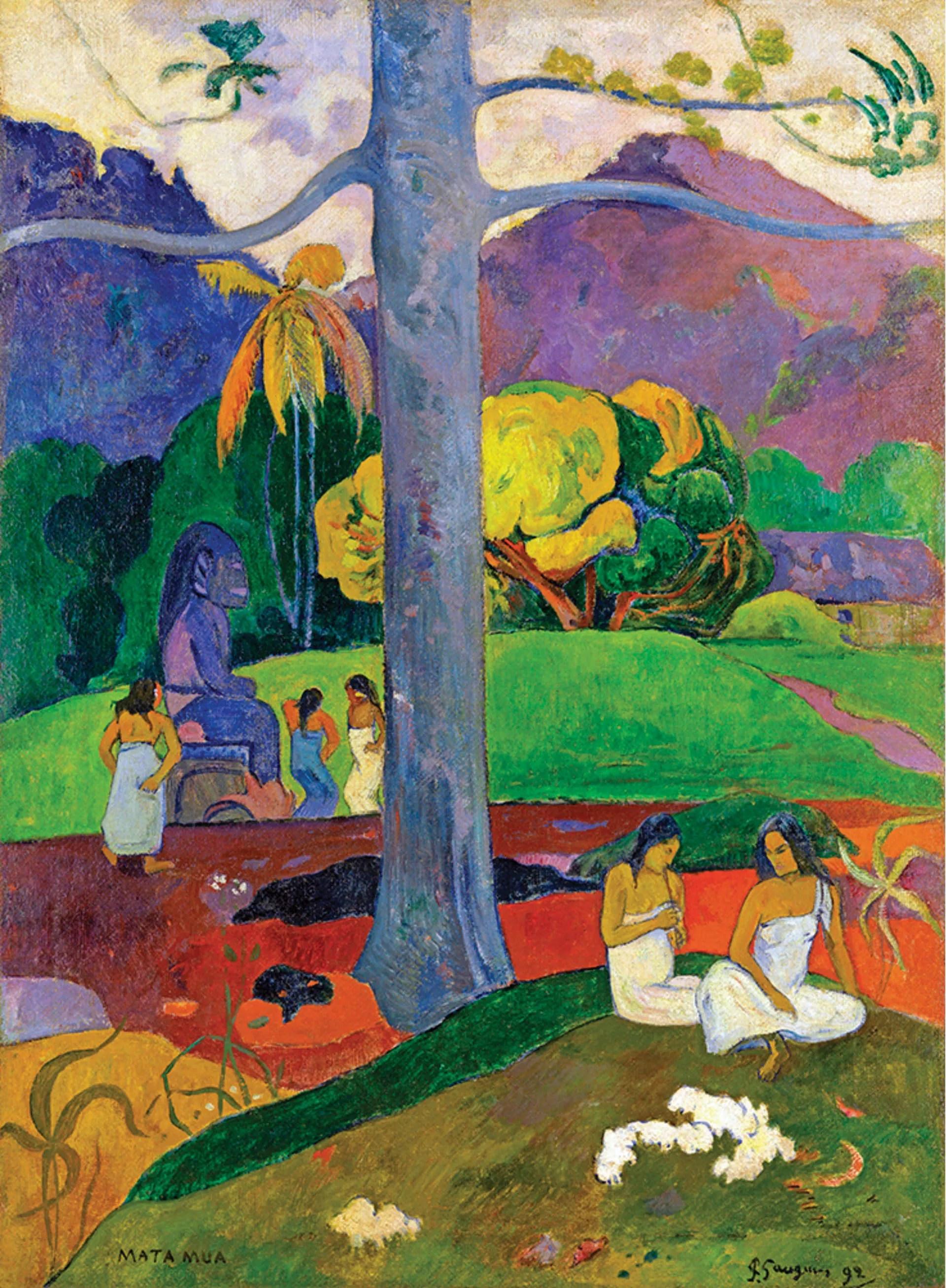 Ambassadeur : toute la magie tahitienne de Paul Gauguin - Welcome Tahiti