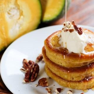 Pumpkin Multigrain Pancakes – Oladiki