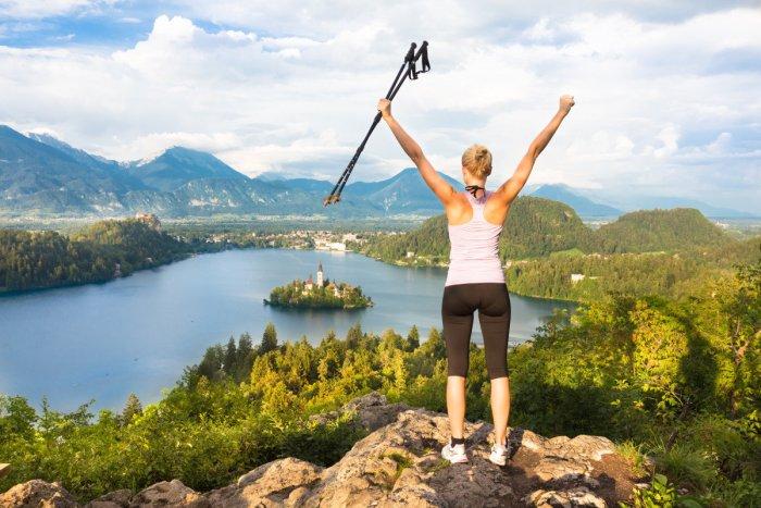 Пешие туристические маршруты вокруг озера Блед