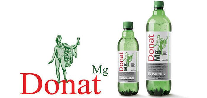 Самая известная вода источников Рогашка Слатина - Donat Mg
