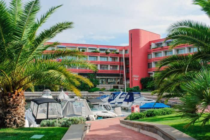 Аквапарк и отель Портрож Словения