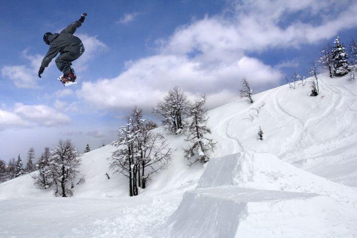 Вогель - центр сноубординга в Словении