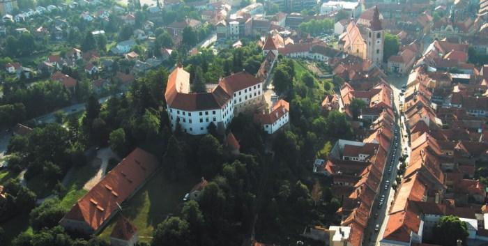 Вид на Птуй Словения