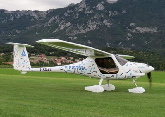 Электрический самолет Pipistrel Словения