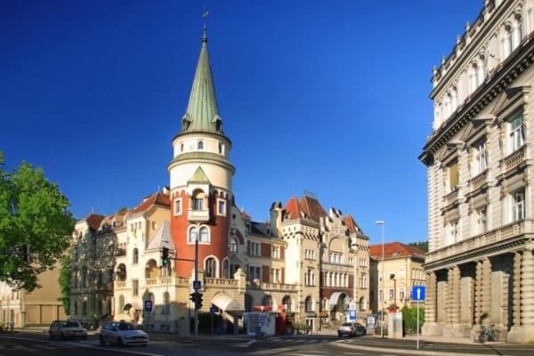 Центр города Целье