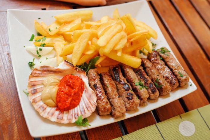 Кухня Словении - чевапчичи