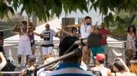 Casimar Casey Valles, founder of The Haus of Casimar, a local dance studio, led a class at last year's 1 Bronx Festival