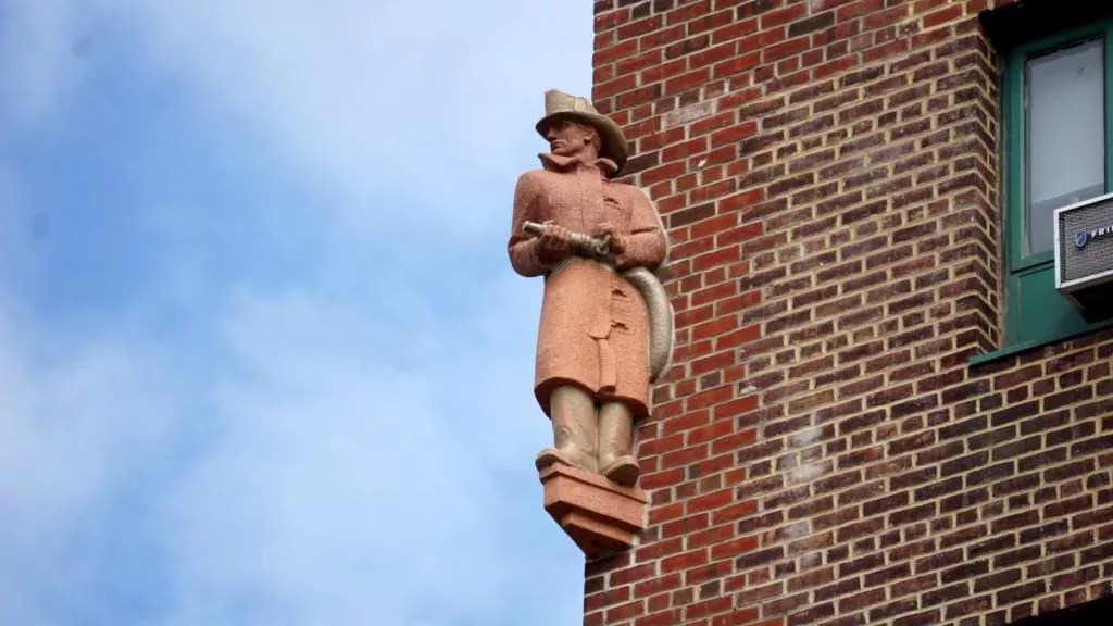 One of Parkchester's iconic statues