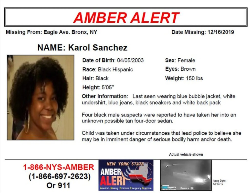Help Find 16 Year Old Girl Abducted In Front Of Her Mother Yesterday In The Bronx Welcome2thebronx