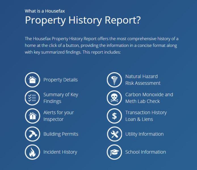 housefax-report-information