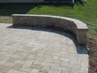 Patio with Knee Wall