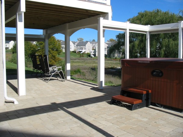 View of patio | Welcome Home Decks