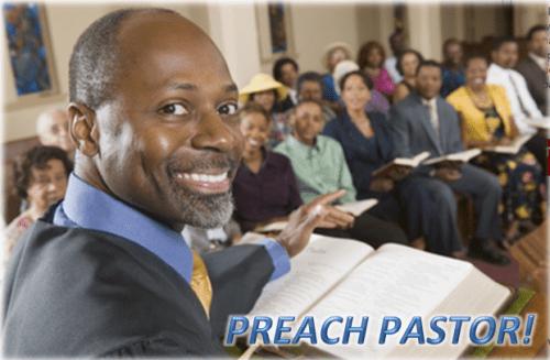 Preach Pastor - large