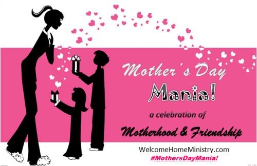 Mother's Day Mania (pink) Logo