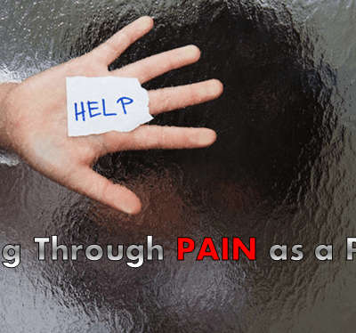 How to Push Through Pain as a Parent (+ Video)
