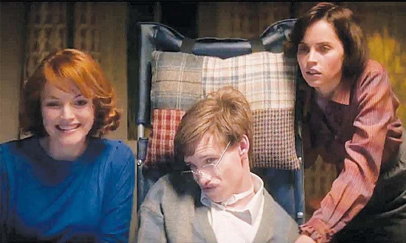 the theory of everything - fiery red head